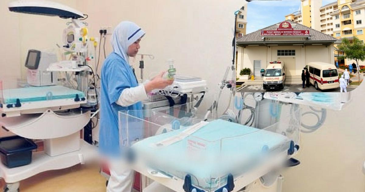Image result for hospital berisiko rendah putrajaya