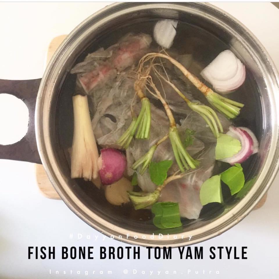 Ibu Ini Kongsi Resipi Fish Bone Broth Yang Bagus Untuk