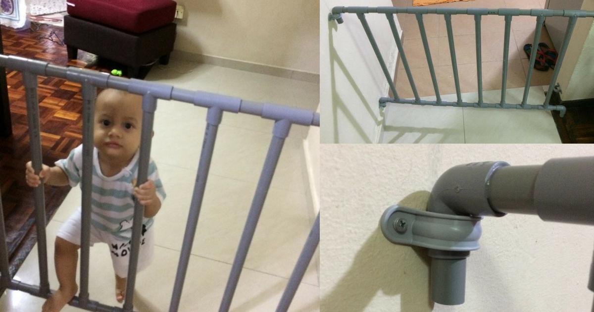 Hanya Dengan Modal Rm30 Boleh Buat Sendiri Pagar Keselamatan Bayi Di Rumah Pa Ma