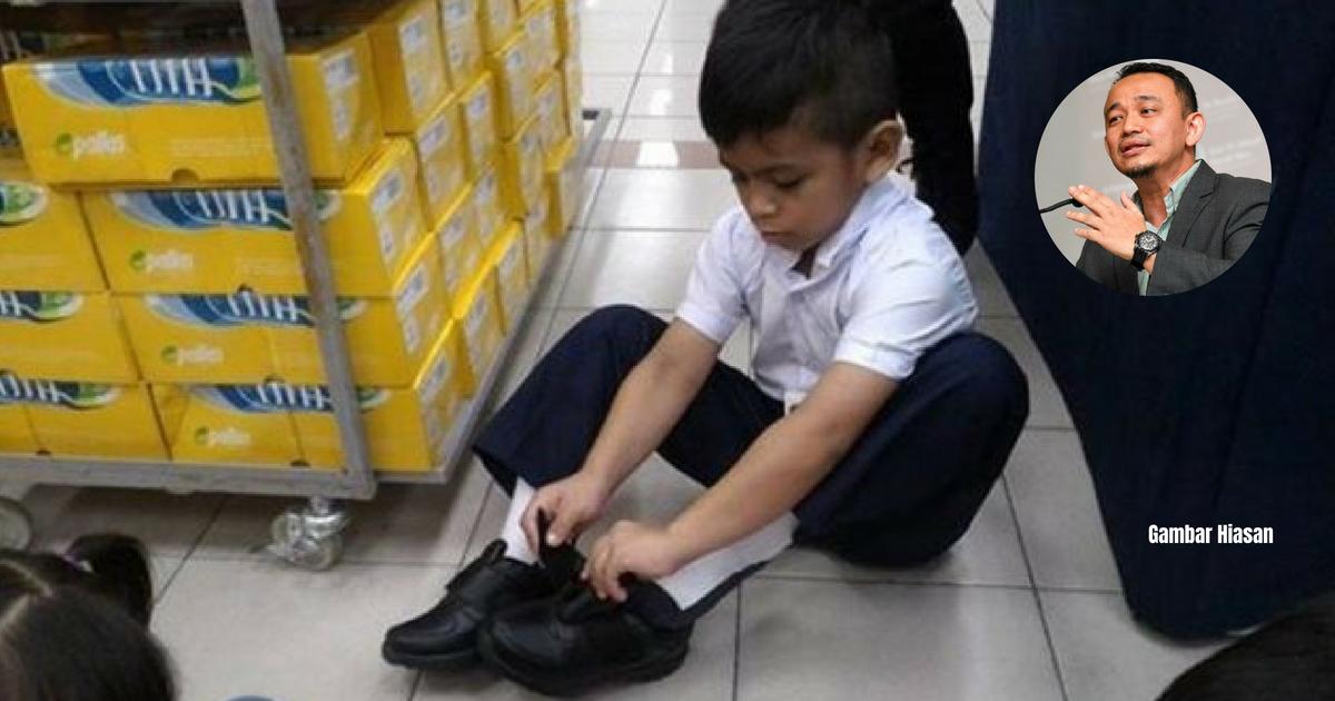 Image result for Menteri Pendidikan, Maszlee Malik pakai kasut hitam