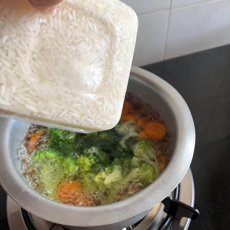Cara Masak Bubur Anak Dalam Masa 10 Minit Sahaja