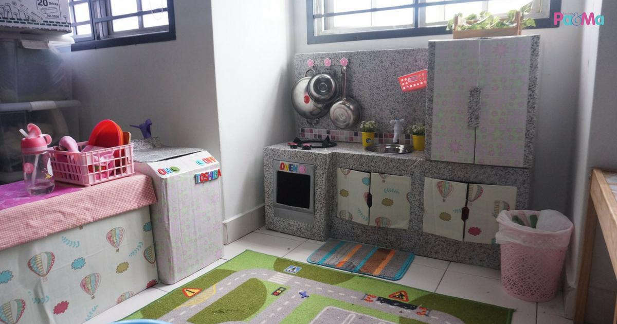 Ibu Ayah Ini Diy Dapur Mainan Anak Dengan Modal Hanya Rm50 Pa Ma